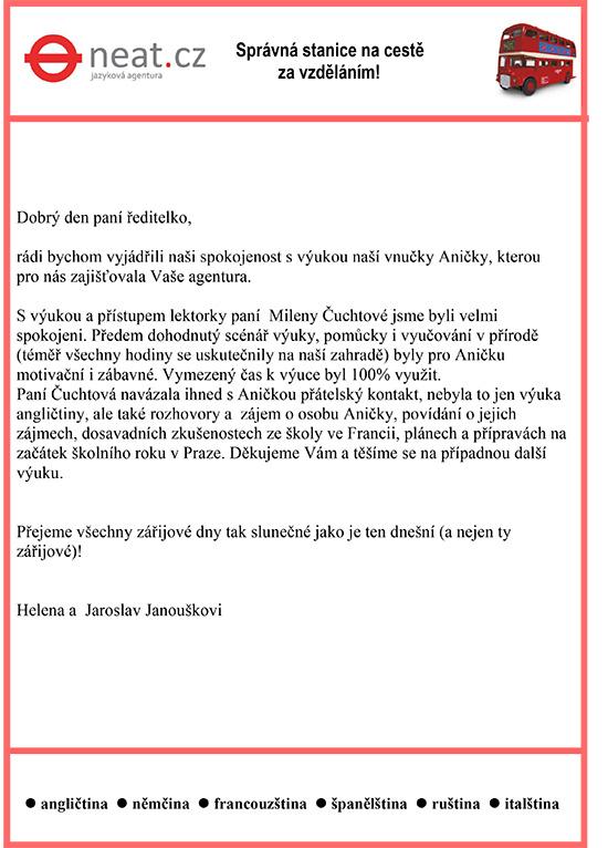 Reference Janouškovi-1