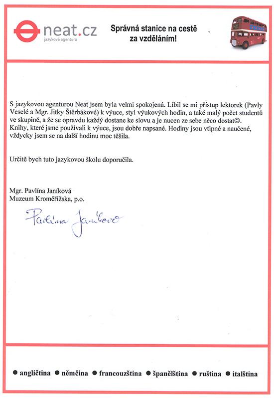 reference Janíková