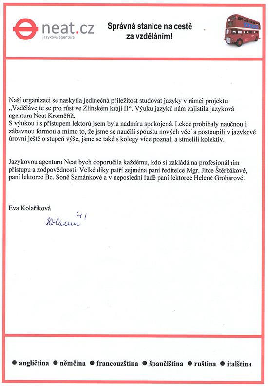 reference Kolaříková